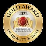 GOLD AWARD 2022 ESTIATORIA.GR